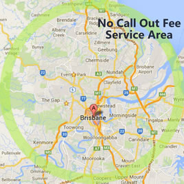 No call-out fee service area.