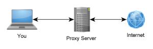 Diagram of Proxy Server